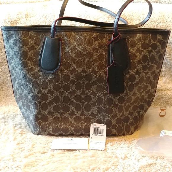 Coach Handbags - Authentic Coach Taxi Tote Saddle 34595 2c997a5e33c32
